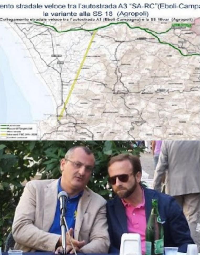 Cariello-Merola-Bretella veloce-Contursi-Agropoli