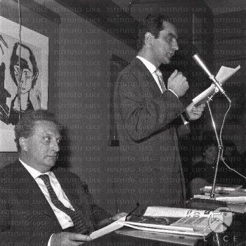 Carlo Levo-Italo Calvino-Istituto Luce