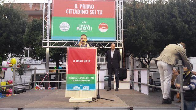Carlo Manzione-Comizio Marisei.