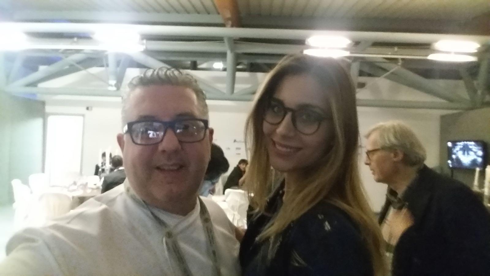 De Vita e Miss Italia Rachele Risaliti