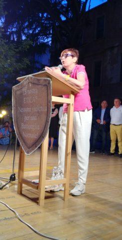 Cecilia Francese-comizio