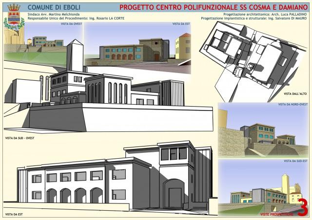 Centro Polifunzionale SS Cosma e Damiano.