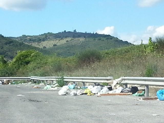 strada provinciale Cilentana prima