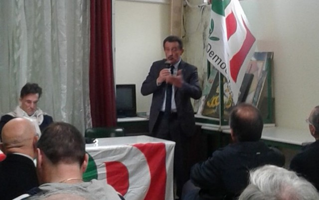 Ciotti assemblea PD Battipaglia