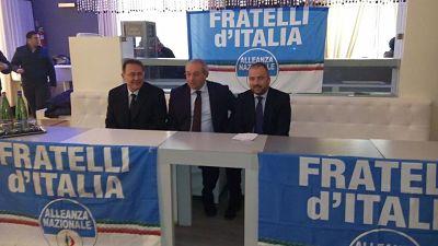 Cirielli fratelli d'Italia Conferenza fine anno 2014