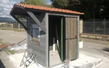 Casa dell'acqua Taverna -in costruzione