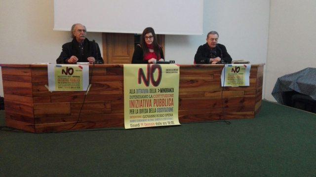 Comitato per il NO-Giovanni Russo Spena-Andrea Manzi