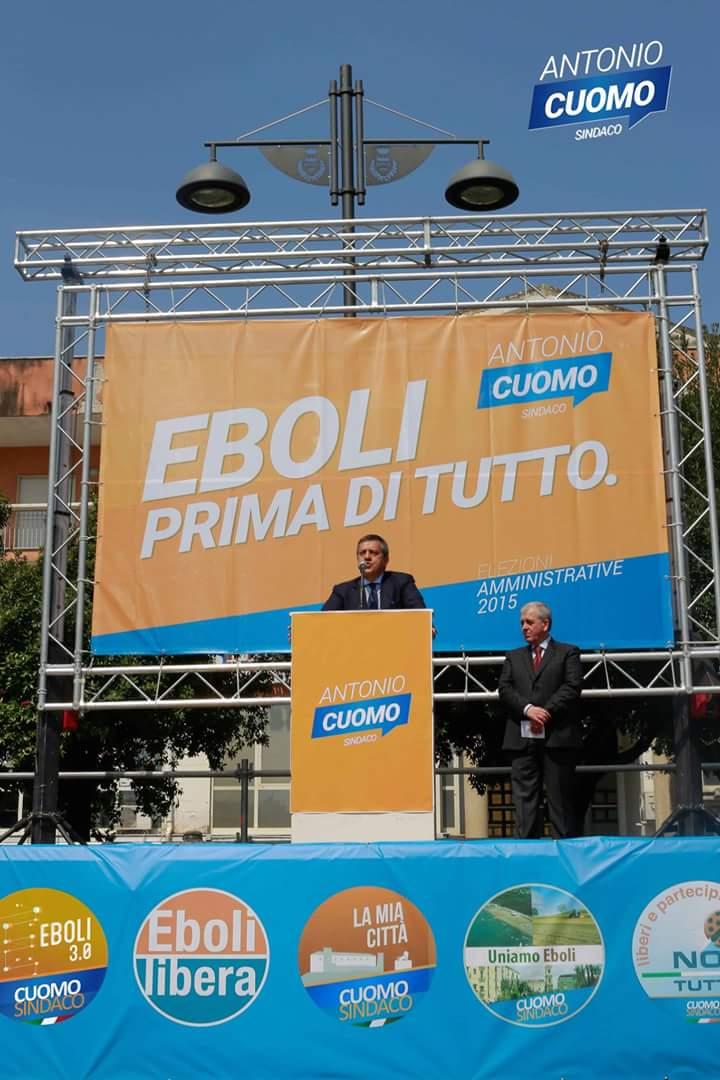 Comizio-Antonio Cuomo