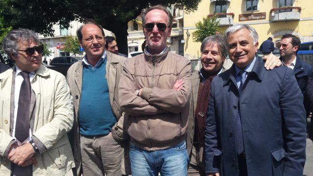 Comizio Cardiello-Santimone-Del Mese-M D'Andrea-Pisani-C D'Andrea.