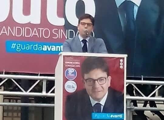 Comizio-Vincenzo Caputo-Eboli