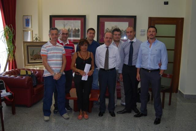 Commissario Prefettizio-Mario Ruffo-con-il-Movimento 5 Stelle-Battipaglia.