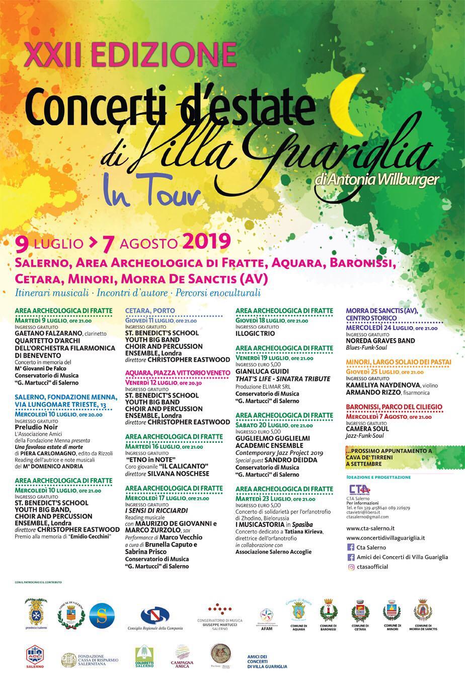 Concerti Villa Guariglia