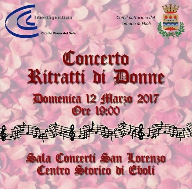 Concerto Ritratti di donne