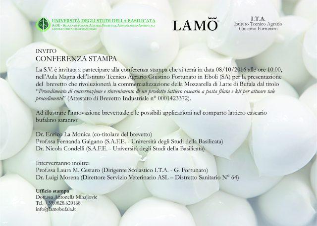 conferenza-stampa-presentazione brevetto Mozzarella di Bufala