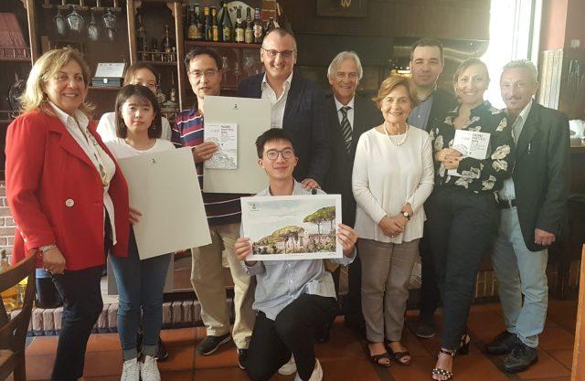 Confucio Class-Alunni-Docenti-Sindaco Cariello-Dirigente Giordano