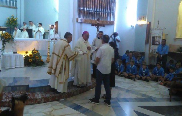 Consegna chiavi parrocchia (2)