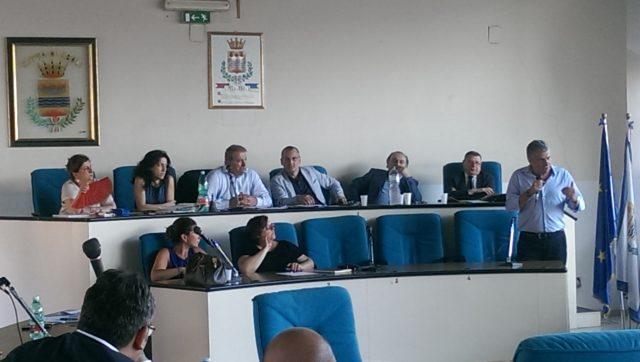 Consiglio comunale-Sanità-Ospedale-Vecchio-Cariello-Di Benedetto-D'Aniello-Saja-Manzione-Calabrese