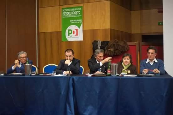 Convegno PD-Salerno-Amabile-Rosato-Iannuzzi-Tartaglione-Landolfi