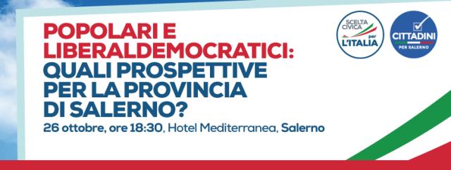 Convegno Salerno- Popolari Democratici
