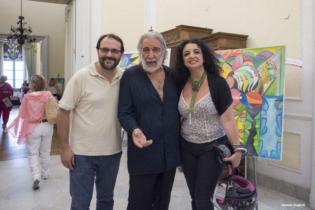 Il canto dei miei colori-Personale-Vito Mercurio-Claudia Izzo