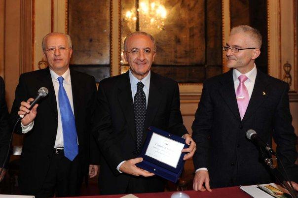 Vincenzo De Luca Premio Amico Codacons