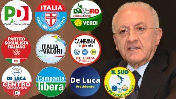 De Luca Presidente-Liste