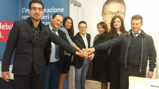 Delegazione Alleanza dei Romeni- Damiano Cardiello