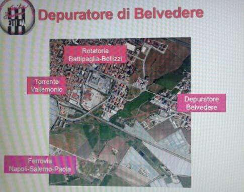 Depuratore Belvedere Battipaglia