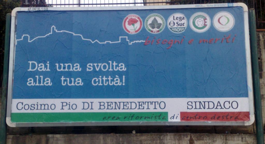 Di Benedetto Cartellone pubblicitario