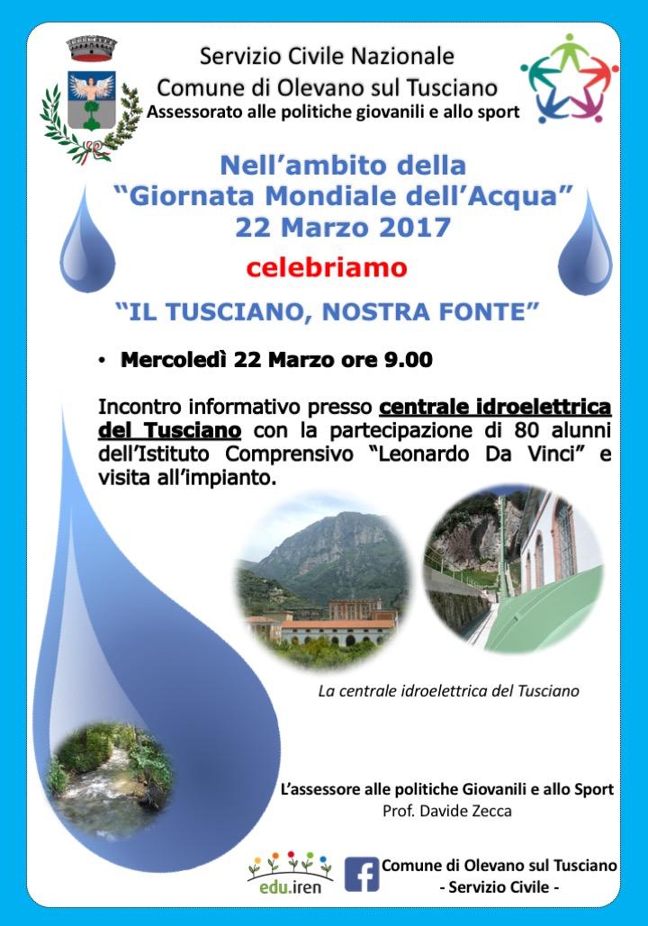 Olevano-Giornata Mondiale dell'Acqua