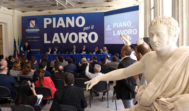 Piano Lavoro Regionale Campania 2019-De Luca