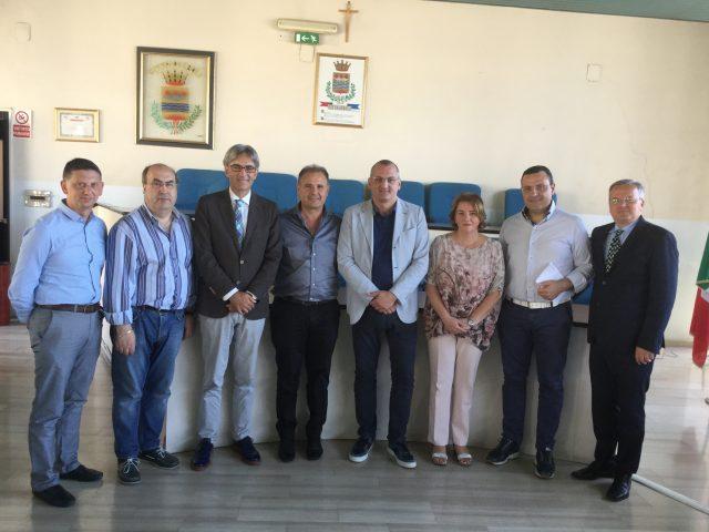 EBOLI-Massimo Cariello,, Roberto Monaco, Renato Iosca, Antonio Marra, Graziano Lardo, Mino Pignata, Michele Volzone-Franco Mennella