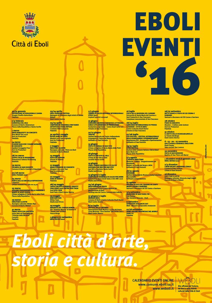 Eboli Eventi 2016
