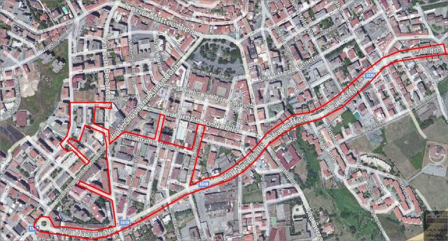 Eboli-Riqualificazione urbana-Quartieri-Buozzi-piazza Regione Campania.