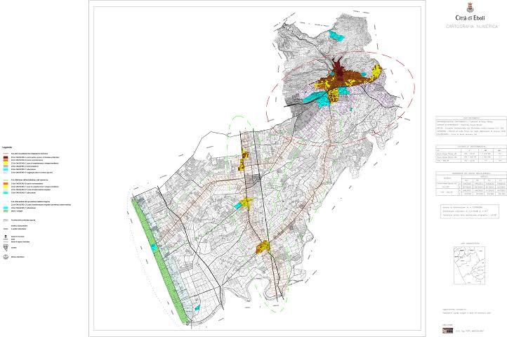 Eboli Tavola 2.2 Proiezioni territoriali del PSC