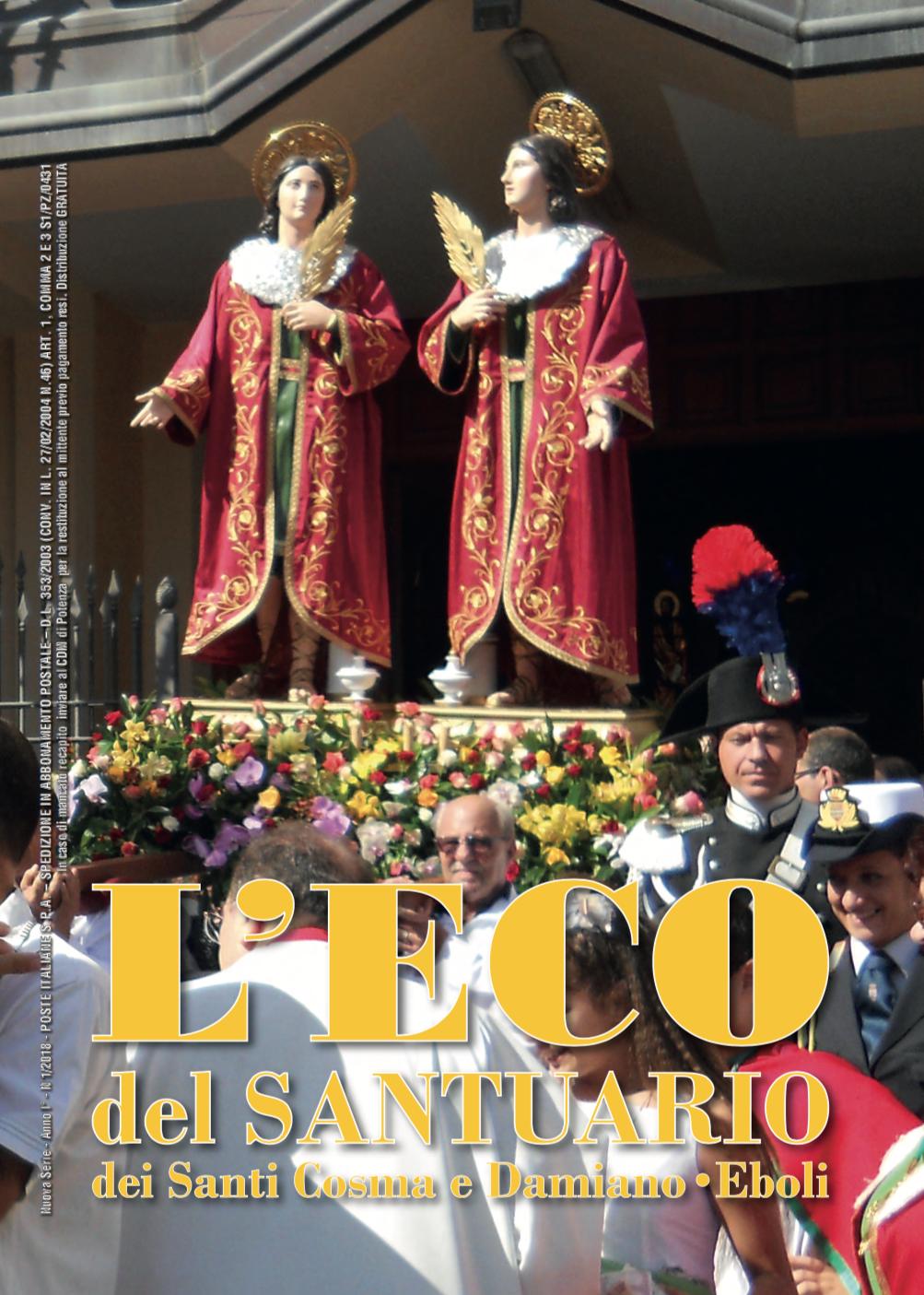 Eco SS Cosma e Damiano- Locandina