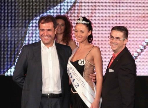 Ernesto Sica e Miss Slide 2012-Paganelli