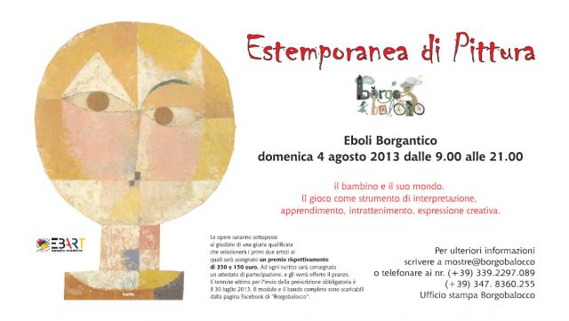Estemporanea Pittura 2013 Borgobalocco