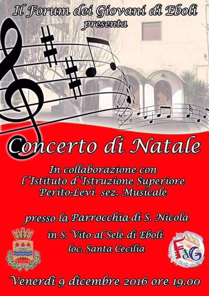Concerto di Natale a Santa Cecilia