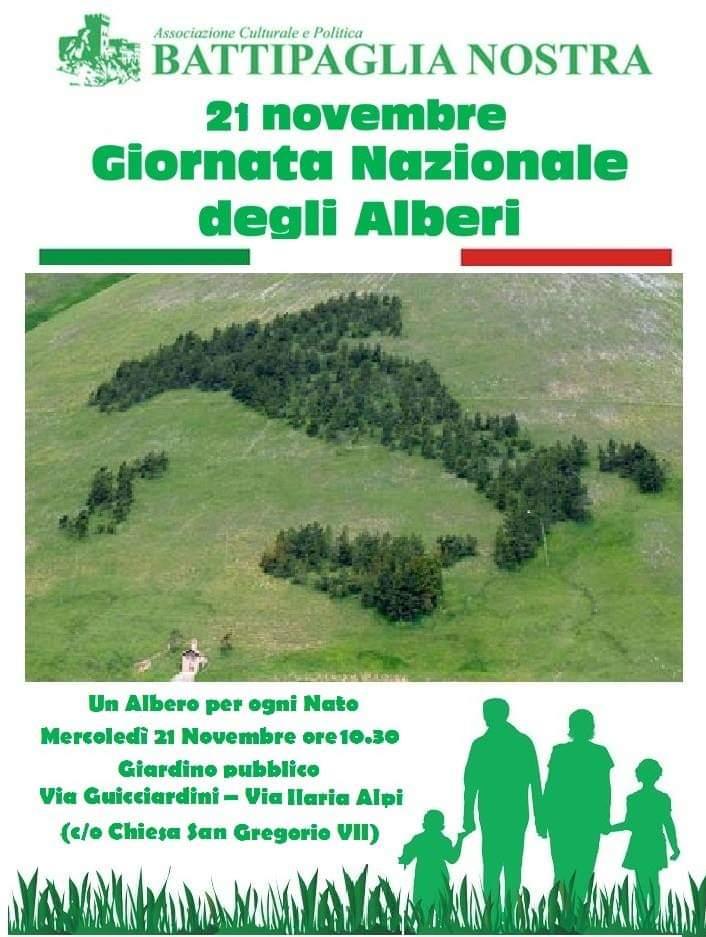 Battipaglia nostra-Giornata nazionale dell'Albero