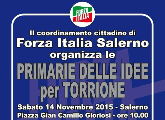 FORZA ITALIA SALERNO MANIFESTO