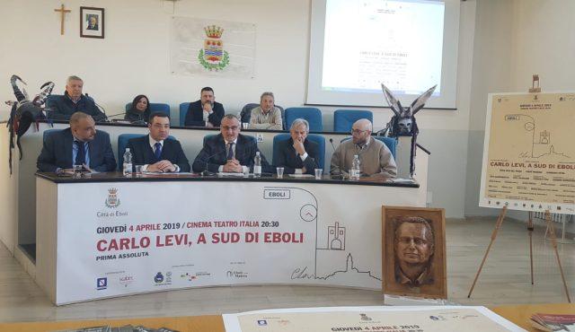 Presentazione spettacolo Carlo Levi, a Sud di Eboli