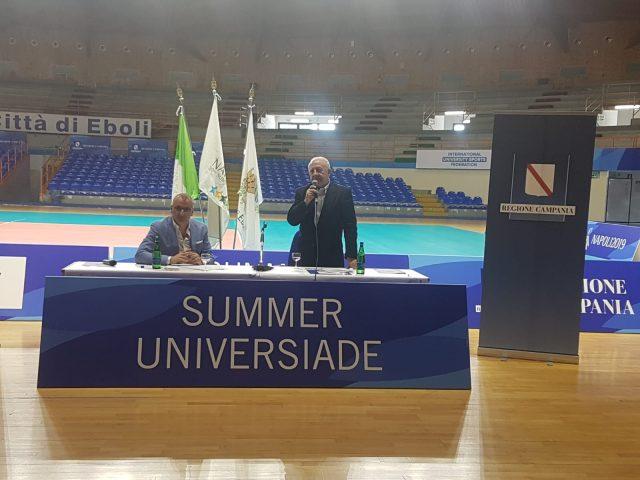 Universiadi 2019 Massimo Cariello-Vincenzo De Luca