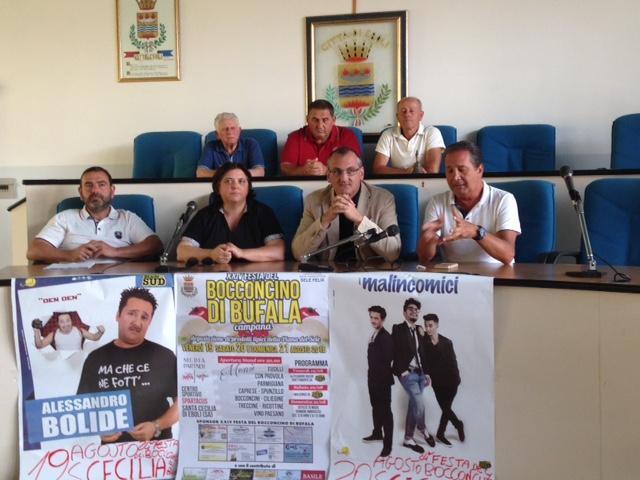 XXIV Festa Bocconcino- conferenza stampa