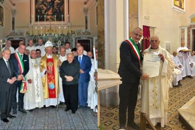 60° sacerdozio don Enzo Caponigro--Mons Andrea Bellandi