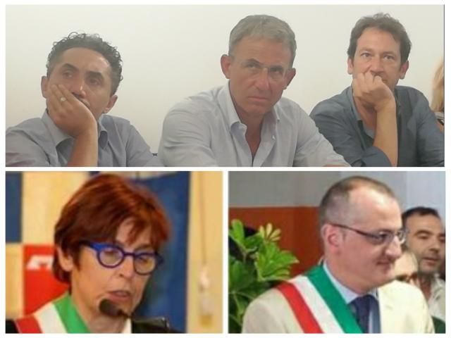 Nicola Acunzo-Sergio Costa-Michele Cammarano-Cecilia Francese-Massimo Cariello