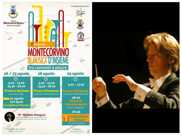 Montecorvino in musica-Michele Mangani
