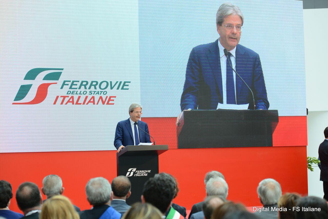 FSI_INaugurazione stazione Afragola-Paolo Gentiloni