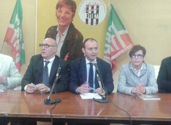 Fasano-Provenza-Francese-conferenza stampa