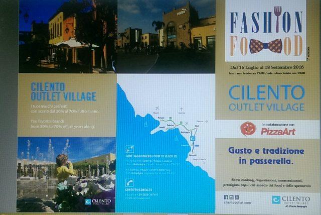 FashionFood 2016-Cilento Outlet Village-Eboli-Locandina (2)